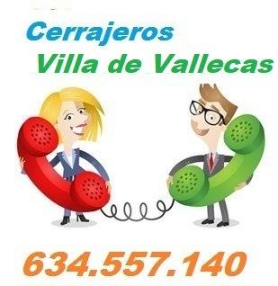 Telefono de la empresa cerrajeros Villa de Vallecas